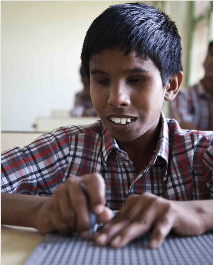 Fundrising for Blind School - Bobbili, INDIA