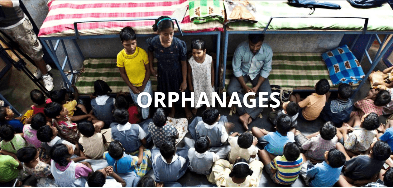 Support Orphanage in Bobbili, INDIA